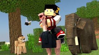 Minecraft Mods: Saphira #54 - Ideia do Zoológico ‹ AM3NlC ›