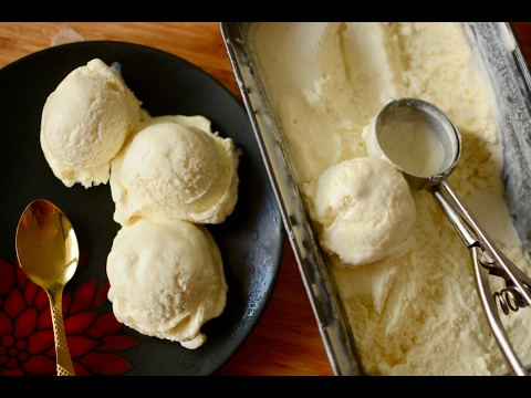 Video Homemade Vanilla Ice Cream Recipe (Only 3 Ingredients) | No Eggs | No Ice Cream Machine