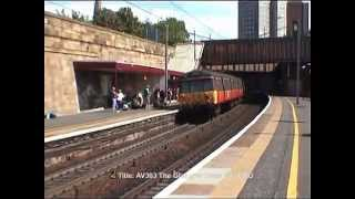 preview picture of video 'Class 303s meet at Motherwell in 2000/2001'