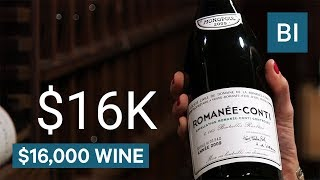 Why Domaine de la Romanée-Conti wine costs $16,000 per bottle