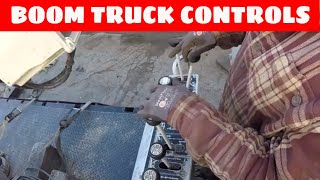 How to operate a stand up boom truck | How to shift an 8 speed Fuller | Construction (industry)