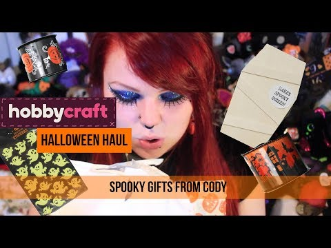 HobbyCraft Halloween Haul - Spooky Surprises From Cody
