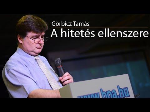 Görbicz Tamás: A hitetés ellenszere letöltés