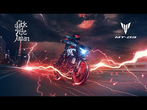 2020 Yamaha MT-03 in Tamworth, New Hampshire - Video 1