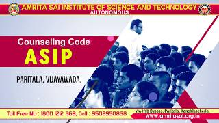Amrita Sai Institute of Science & Technology - 2019