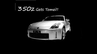 nissan 350z tomei exhaust install - TH-Clip
