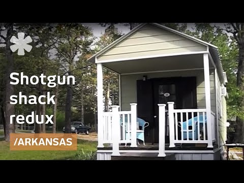 Shotgun Shack Redux Mortgage Free In 320 Square Feet