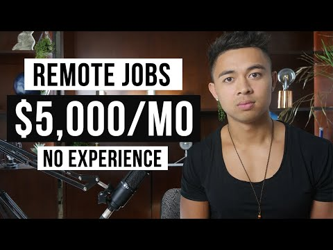 10 Remote Jobs For Beginners (2021)