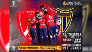 R.F.F.M. - CATEGORÍA PREFERENTE (Grupo 1) - Jornada 3 - A.D. Torrejón C.F. 0-2 C.D. Canillas