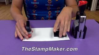 How to Ink a 2000 Plus Date Stamp
