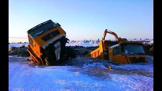 Неудачи на грузовиках Север ошибок не прощает Грузовики что-то пошло не так, такого никто не ожидал