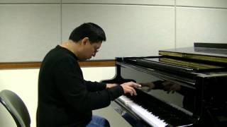Lupang Hinirang (Philippine National Anthem) - Marcel Talangbayan - piano