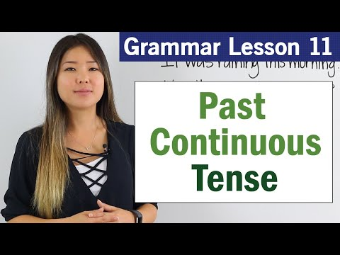 Learn Past Continuous Tense | Basic English Grammar Course