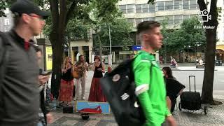 Video Načarej - Festival Praha žije hudbou 2021 - busking