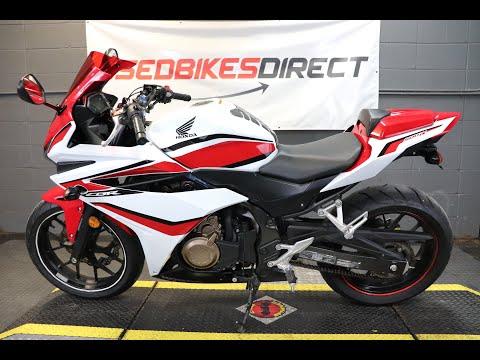 2018 Honda CBR500R Base at Used Bikes Direct