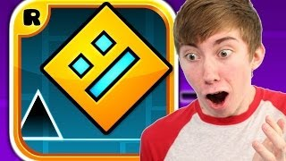 GEOMETRY DASH (iPhone Gameplay Video)