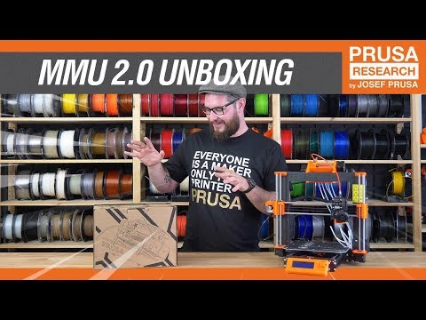 Original Prusa i3 MMU 2.0 - Official Unboxing by Jo Prusa