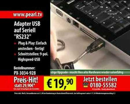Adapter USB auf Seriell RS232