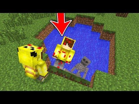 ŞEYTAN GÖLE ASLA BAKMAYIN! (KÖTÜ ISMETRG GELDİ) ???? - Minecraft