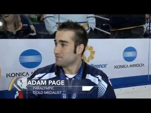 Page Intermission Interview at First Niagara Center