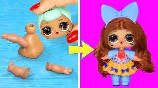 15 лайфхаков и поделок для кукол ЛОЛ