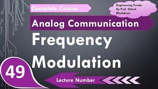Frequency Modulation (FM) basics, Formula & Waveforms in Analog Communication by Engineering Funda