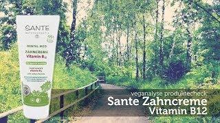 Sante Zahncreme Vitamin B12 | Supplement Zahnpasta