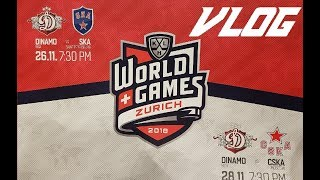 KHL World Games Vlog! (SKA St  Petersburg vs Dinamo Riga)