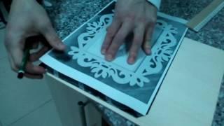 izcilik kursu öğrencilerime kıl testeresi naht sanatı eğitiminden bir bölüm