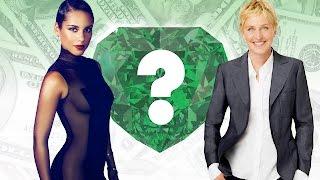 WHO'S RICHER? - Alicia Keys or Ellen DeGeneres? - Net Worth Revealed!