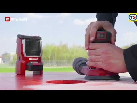 Einhell PXC 18V Cordless 125mm Rotating Sander