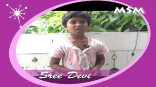 Pronunciation Of Telugu Alphabets By Sridevi