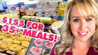 35+ BREAKFAST FREEZER MEALS FOR ONLY $155!! | LARGE FAMILY FREEZER COOKING