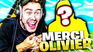 OLIVIER DE FORTNITE M'OFFRE UN NOUVEAU SKIN !!!