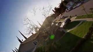 "Covid-19 Quarantine - Front Yard Rip - 3"" GepRc Cinequeen 4k"