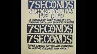 7 seconds (1981) 3 Chord Politics [Full Demo]