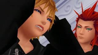 Kingdom Hearts 358/2 Days Cutscenes   Part 4   Xion Captured By Axel? Roxas Faints?