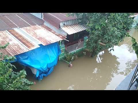 Kondisi Banjir Terkini Yang Ada Di Makassar