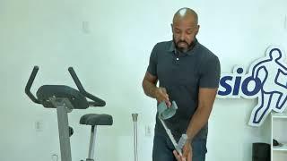 Bryan de Vries, fisioterapista: Kon ta stèl i usa un krùk