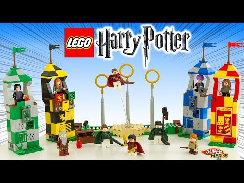 Vidéo LEGO Harry Potter 75956 : Le match de Quidditch