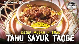 Tahu Sayur Taoge, Hidangan Nikmat yang Bisa Kilat Dibuat