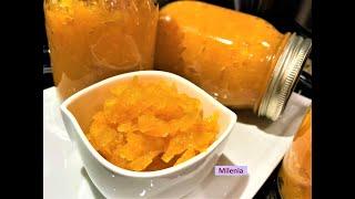 ВКУСНЯТИНА  из Тыквы на зиму  ТРОПИКАНА со вкусом манго. Десерт  к чаю и начинка для пирогов.