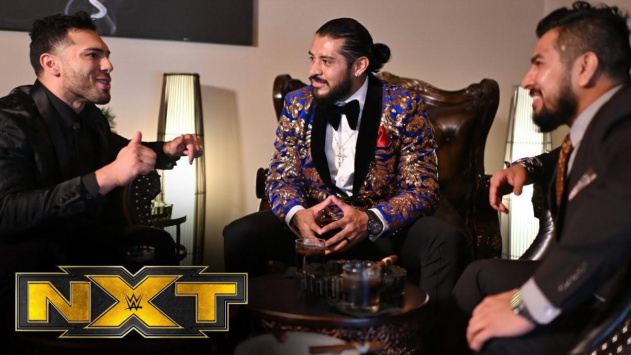 Santos Escobar On Why It's Important For Legado Del Fantasma To Win The WWE NXT Dusty Classic
