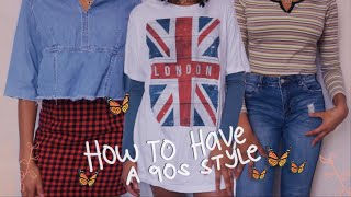 how to have a 90s style ~ hairstyles, plaid skirts, layering, etc!