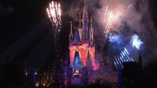 TDS 4K 綺麗!ナイトタイムスペクタキュラー「Celebrate! Tokyo Disneyland」ディズニーランド