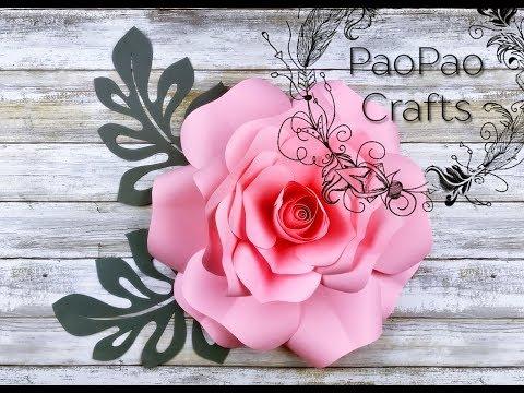 rosa de papel flores de papel moldes gratis how to make paper rose