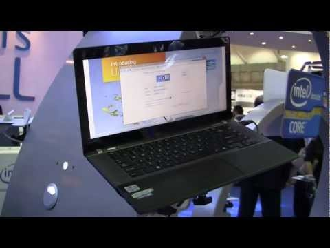 "Toshiba Satellite U840W ""Ultrabook"" Hands On - Computex 2012"