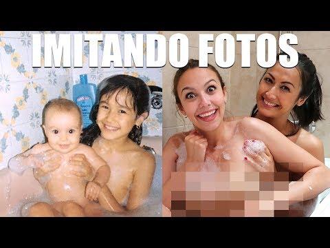 IMITANDO FOTOS DE PEQUEÑAS | Meri Bu