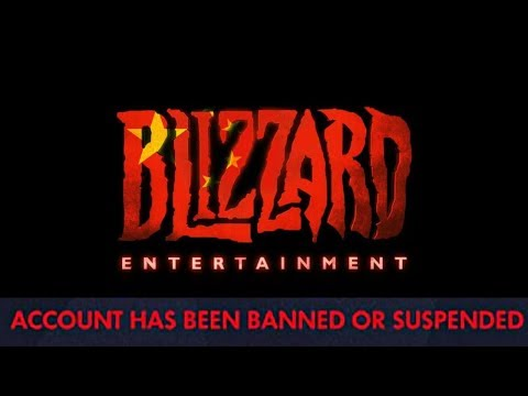 How to get banned from Blizzard