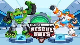 Трансформеры Наперегонки с бедой Transformers Rescue Bots Захватывающие Приключения  Игровой мульт